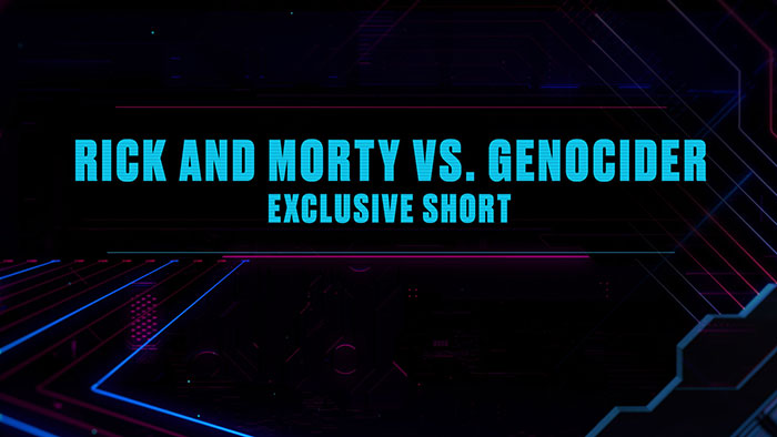 Rick and Morty vs. Genocider