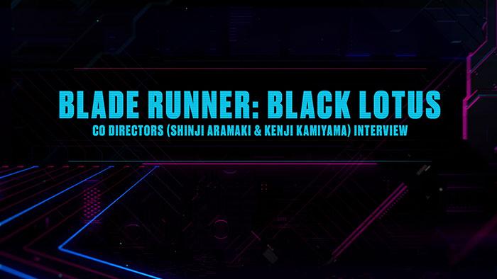 Blade Runner: Black Lotus interview